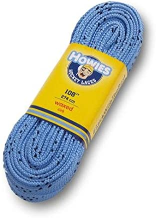 Howies 120 Black Ice Hockey Skate Laces Non-Waxed Skating Inline Roller Street Park