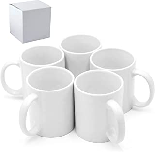 لیوان / فنجان قهوه خالی 11oz Sublimation Bug / Cup لیوان سفید خالی ، مورد 36