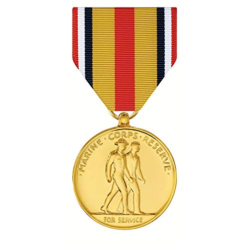 Selected Marine Corps Reserve Medal Anodized