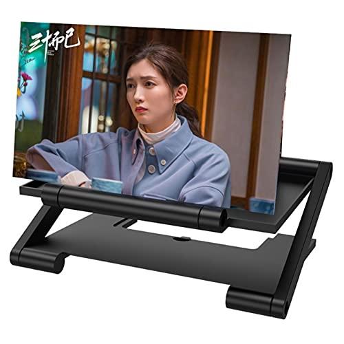 XUETTINGMY HD 3D-Telefon-Bildschirm-Vergrößerung,dünne Faltbare Telefon-Lupe,leicht zu tragen für Männer Geschenke,Filme Telefonprojektor (Trapez)