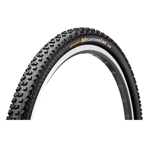Continental MTB - Rueda Mountain King II 2.2, black-black skin, 26 x 2.2, 100399