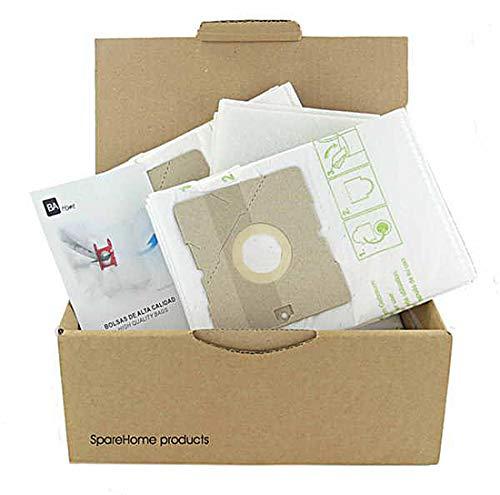 10 Bolsas de alta calidad + 3 microfiltros recortables para aspirador AmazonBasics W11 G51