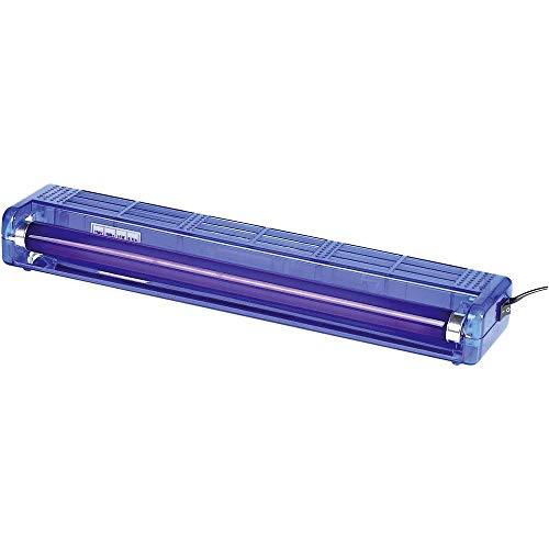 Uv-lamp, blauwe behuizing, 47 cm