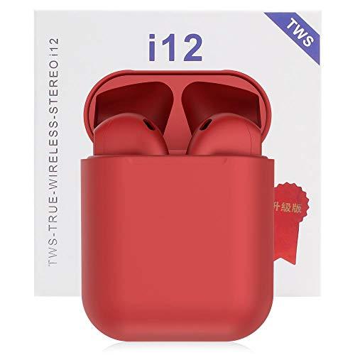 i12 TWS audífonos inalámbricos Bluetooth 5.0 para Todos los teléfon