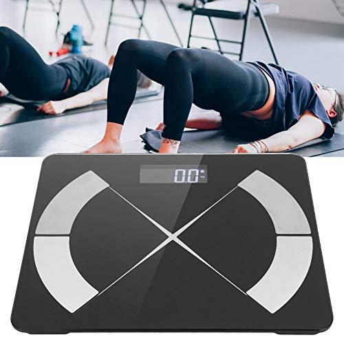 Slimme weegschaal, elektronische weegschaal Bluetooth Multifunctionele draadloze elektronische weegschaal BMI Lichaamsvet voor lichaamsgewicht Gewicht voor lichaamsgewicht Badkamer