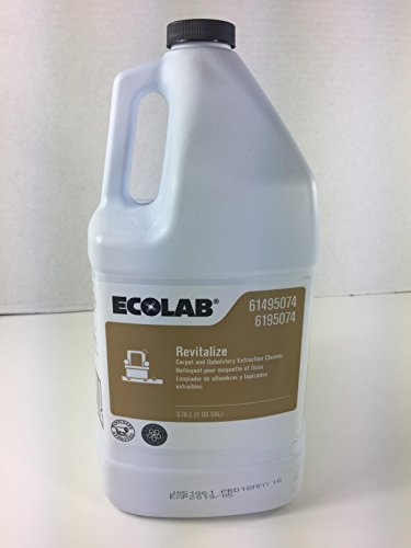 ECOLAB Revitalize Carpet and Upholstery Extraction Cleaner 6195074-1 Gallon