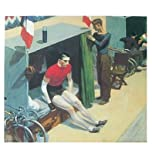 Germanposters Edward Hopper Radfahrer beim Sechstagerennen