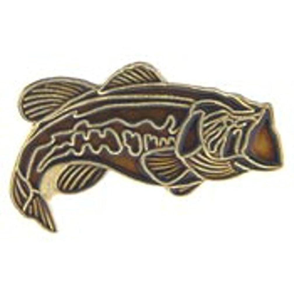 EagleEmblems P60115 Pin-Fish,Bass,Red (1'')