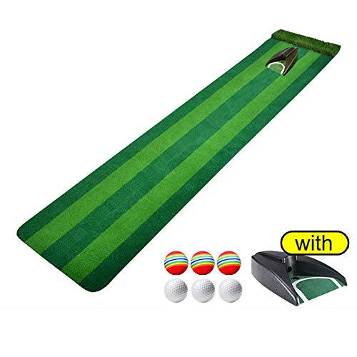 Portátil Alfombra Golf con Pelota De Práctica,Profesional Esteras De Golf...