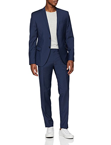s.Oliver BLACK LABEL Herren 160.14.004.21.210.2051691 Anzug, Blau (Blue 5876), 54
