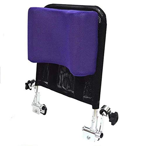 MJZYP Apoyacabeza Silla Ruedas Soporte Cuello Asiento cómodo Respaldo Cojín, Acolchado Ajustable Adultos Accesorios sillas de Ruedas universales portátiles 16'-20'