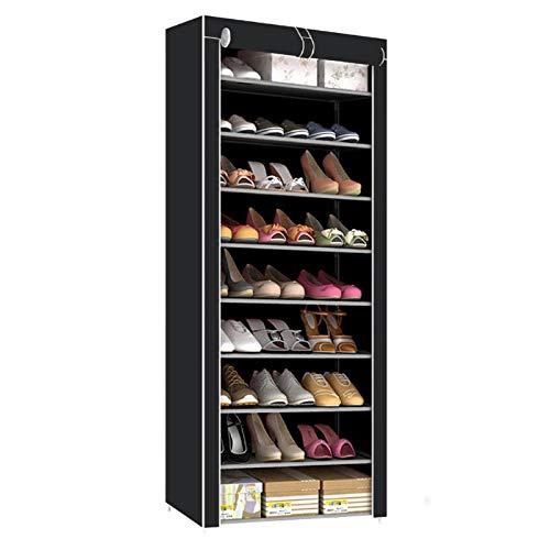 Youyijia 10 Tier Shoes Rack Storage Cabinet Dustproof Shoes Cabinet Storage...