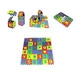 36pcs Foam Puzzle Mat Alphabet and Number Puzzle Mat Interlocking Tiles Floor Puzzle Mat for Children Babies Education Gym Workout EVA Soft Crawling Rug 5.9x5.9 Inches,US Stock