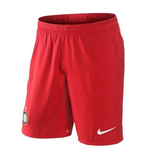 Nike 2012-13 Inter Milan Away Pantaloncini da Calcio (Red), Rosso (Challenge Red/Football White (603)), M
