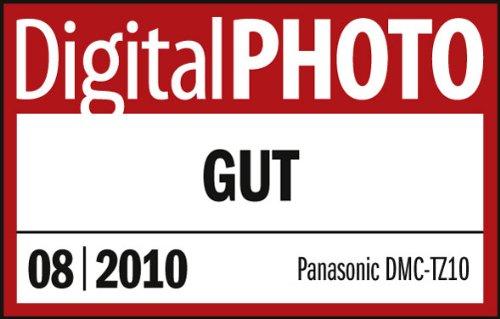 Panasonic Lumix DMC-TZ10EG-T Digitalkamera (12 Megapixel 12-fach opt. Zoom, 7,6 cm (3 Zoll) Display, Bildstabilisator, Geo-Tagging) chocolate