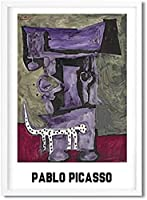 パブロピカソ展ポスタープリント抽象ヴィンテージキャンバス絵画現代ギャラリー壁アートピカソアートワーク写真家の装飾40x60cmフレームなしA33