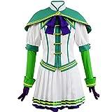 Pretty Derby Disfraz completo vestido Silencio Suzuka Uniforme Falda Anime Cosplay Disfraces Uniforme Traje de marinero Disfraz de Halloween Carnaval para niñas