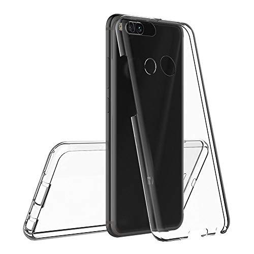 iGlobalmarket Funda para Xiaomi Mi 5X / Mi A1 - Carcasa Completa [360] de [Silicona] para móvil - (Transparente Frontal + Trasera)