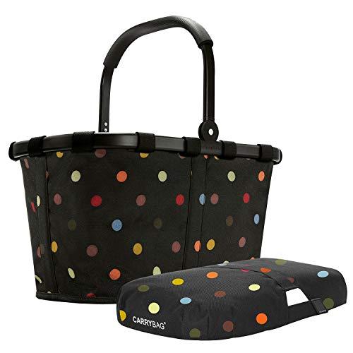 reisenthel carrybag Frame Black/dots + Cover dots