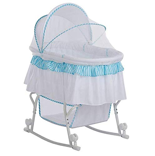 Buy Discount Portable 2 in 1 Bassinet and Cradle in White