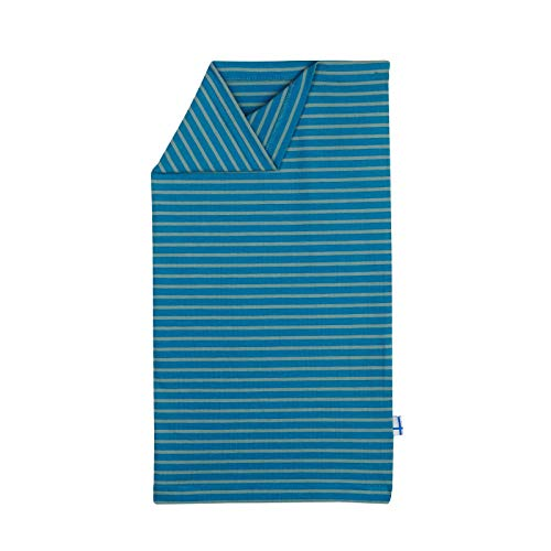 Finkid Tuubi Twist Gestreift-Blau, Kinder Schals und Halstücher, Größe One Size - Farbe Seaport - Trellis