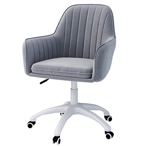 LYJBD Silla giratoria, sillas de Escritorio con Ruedas, cojín de Asiento Grueso, Silla giratoria y...