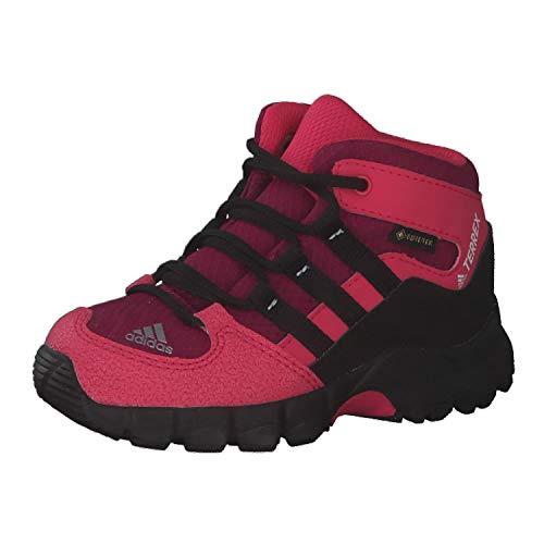 adidas Jungen Unisex Kinder ITB33-FY2220 Leichtathletik-Schuh, Rot Schwarz, 26 EU
