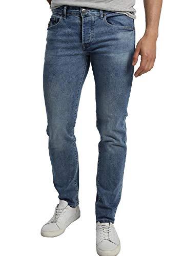 LOIS JEANS - Jean Confort pour Homme - Slim Fit, Taille Moyenne | en Coton | Fermeture éclair |Taille en Pouces | Talla inch - 38