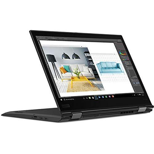 Lenovo ThinkPad X1Yoga 20FQ 14' Flip Design 2-in-1 Ultrabook, i7-6500U, 8GB RAM, 256GB SSD, 14' FHD (1920x1080) IPS Anti-glare, Back-lit, Windows 10 Pro (20FQ001VUS) (Renewed)