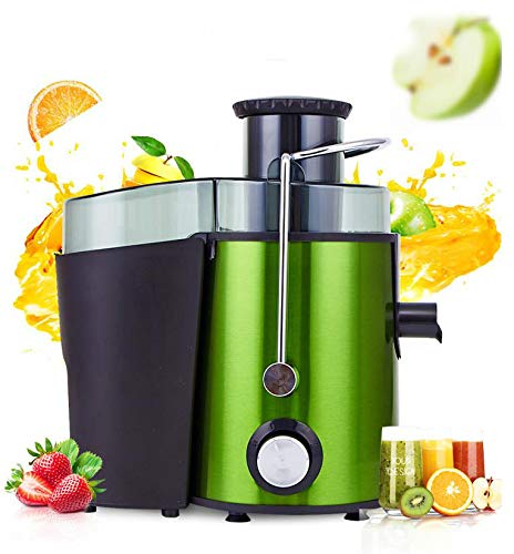 Großkaliber Entsafter Obst- und Gemüsesaft-Entsafter aus Edelstahl tragbare Haushaltsfruchtspender-Milchshakemaschine