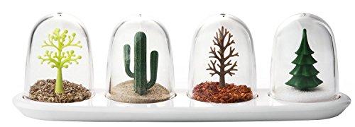 QUALY Four Seasons Gewürzstreuer, Kunststoff