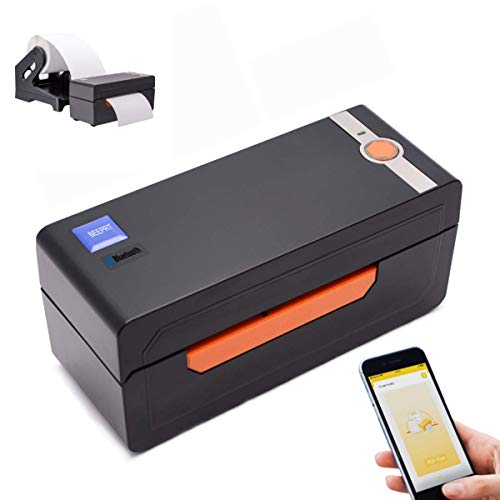 BEEPRT (Bluetooth Ready) Thermal Label Printer, Adjustable High Speed Direct USB Thermal Barcode, 4x6 Shipping Label Print Maker Writer Machine, Compatible with Ebay, Amazon, UPS, Shopify, Fedex, Etsy