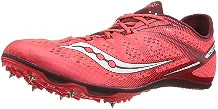 Saucony Men's Ballista Track Shoe, Red/White, 12.5 M US
