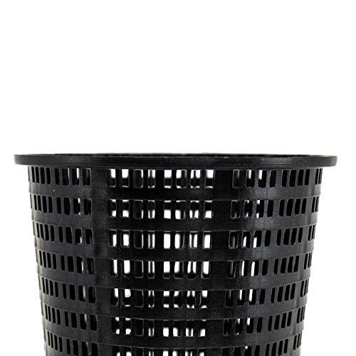 Hayward AXW431ABK Laubkorb aus Kunststoff für Schwimmbecken, Schwarz