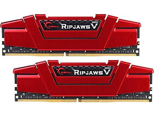 G.SKILL 32GB (2 x 16GB) Ripjaws V Series DDR4 PC4-27200 3400MHz Intel Z170 Platform Desktop Memory Model F4-3400C16D-32GVR