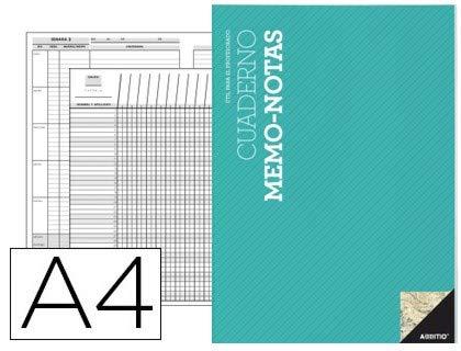 Additio P152, Cuaderno Memo-Notas, Colores surtidos, 1 Pieza 🔥