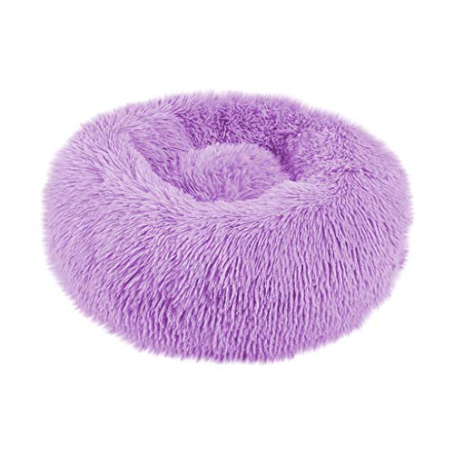 YueLove Deluxe Pet Bed, for Cats and Small to Medium Dogs, Easy to Clean, Bed for Pets in Doughnut Shape, 50/60/70/80 cm