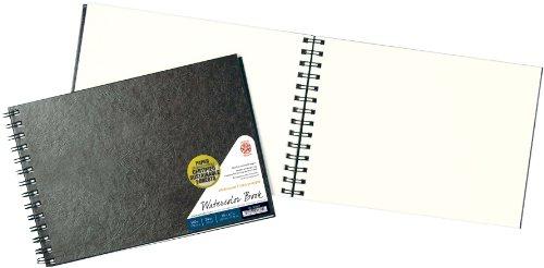 Pentalic 20803 Watercolor Field Book, 9-Inch by 12-Inch