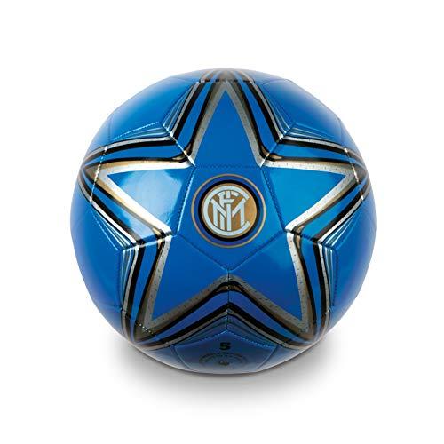 Mondo Toys-Pallone da Calcio cucito Inter F.C. adulto/bambino-size 5-300 g Nero/azzurro/bianco-13397, Colore Blu, 8001011133970
