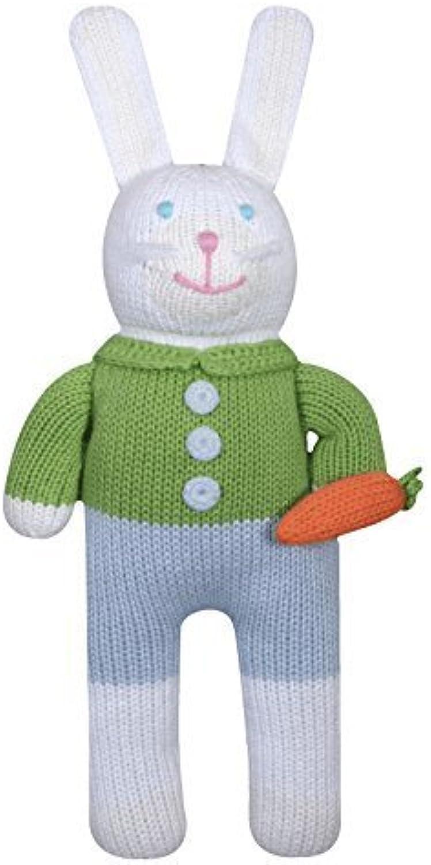 Zubels Bunny Boy Collin 12  EcoFriendly Plush by Zubels