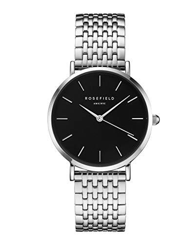 Rosefield Damen Digital Uhr mit Edelstahl Armband UEBS-U25