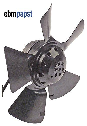 EBM-Papst A4E250-AA04-01 Ventilator ohne Kondensator 230V 32W Lüfterrad 250mm 50Hz 5 Schaufeln Drehrichtung saugend 1.420 U/min