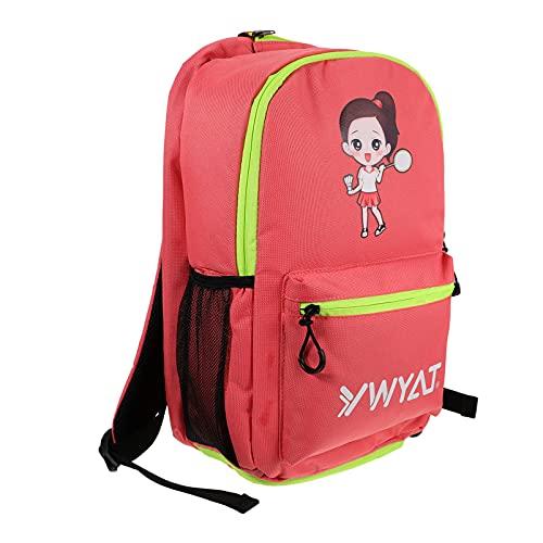 BESPORTBLE Mädchen Tennis Tasche mit Schuh Fach Badminton Rucksack für Kinder