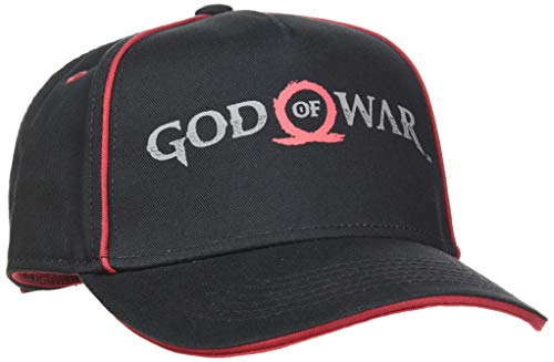 Bioworld God of War Logo Print Curved Bill Cap Casquette de Baseball, Noir (Noir Noir), Taille Unique Mixte