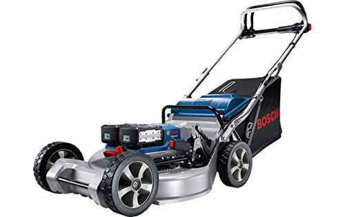 Bosch GRA 53 Professional Schubrasenmäher Schwarz, Blau, Silber Batterie/Akku - Rasenmäher (Schubrasenmäher, 53 cm, 2 cm, 7 cm, 1500 m², Messerbalken)