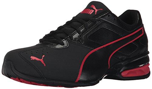 Zapatillas de deporte Tazon 6 FM para hombre, Puma Black-Toreador, 13 M US