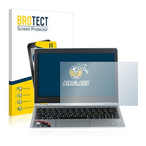 BROTECT Panzerglas Schutzfolie kompatibel mit Lenovo Yoga 710 11.6 - AirGlass, extrem Kratzfest, Anti-Fingerprint, Ultra-transparent
