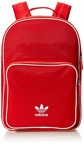 adidas Unisex-Erwachsene Bp Cl Adicolor Rucksack, Rot (Escarl), 24x36x45 centimeters