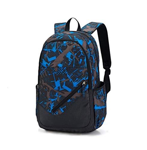 Randonnée de Voyage résistante à l'eau, emballable, Pliable, légère, Sacs à Dos, Sacs à Dos, Sacs à Dos (Color : Meteor Blue, Size : 32 * 16 * 48CM)