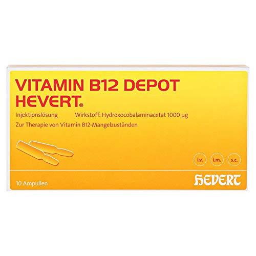 VITAMIN B12 Depot Hevert Ampullen 10 St